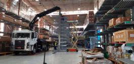 Montagem de estruturas metálicas é com a Cunzolo!