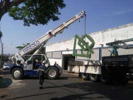 Guindaste Ormig: movimentação de ferramental e gabaritos em Botucatu, SP