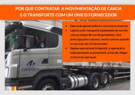 ATF 220 no içamento de transformador e carga seca com pescoço removível no transporte até São Carlos/SP.