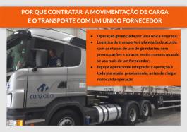Vantagens de contratar movimentação de carga e transporte com um único fornecedor