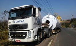 O transporte rodoviário na Cunzolo