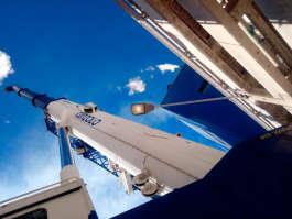 Guindaste ATF 220 operando em indústria de papel