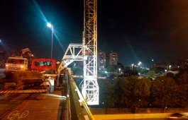 Manutenção de pontes: Barin em ação em São Paulo