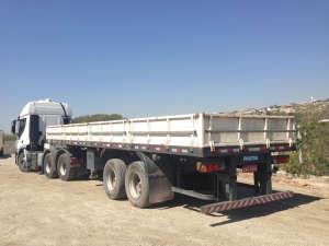 Carreta Carga Seca 02 eixos -Transporte pesado
