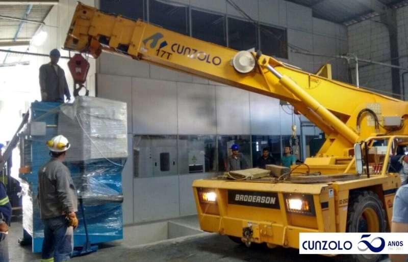 Remoção Industrial com Guindaste em Campinas -SP