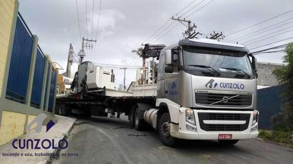 Içamento e Remoção de Tanque e Container com Guindastes em Suzano - SP