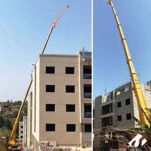 Construção de Prédio com Guindaste em Vinhedo-SP