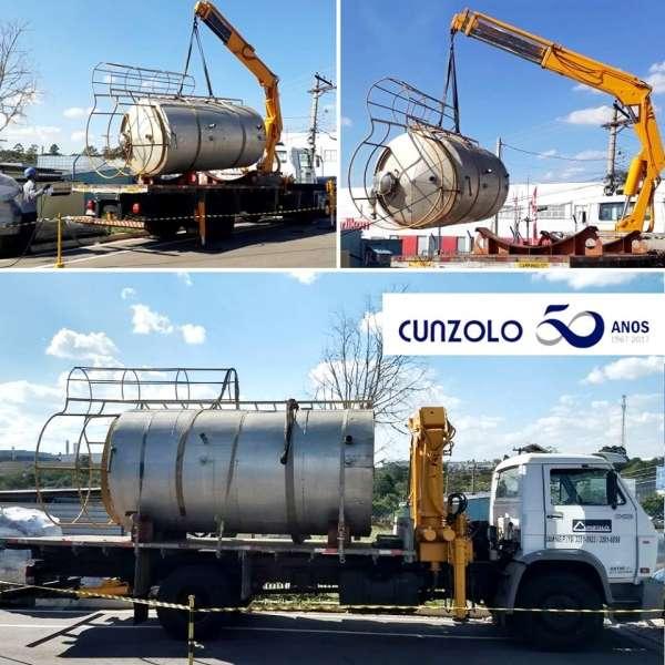 Içamento e Transporte com Guindaste em Jundiaí-SP